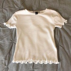 Super stylish white shirt!!